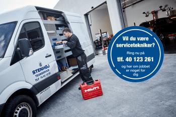 BLIV SERVICETEKNIKER HOS STENHØJ DK